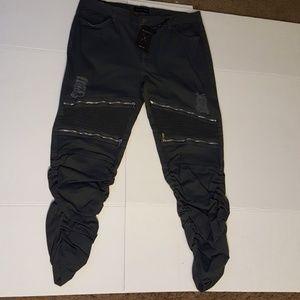 Plus Size Stretch Twill Jeans